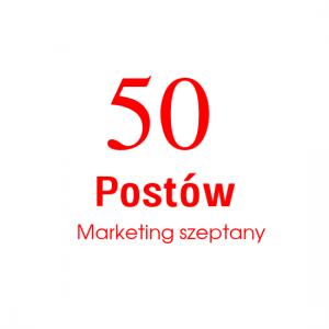 50 Postów  Marketing szeptany