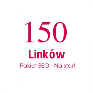 150 Linków Pakiet SEO - Na start